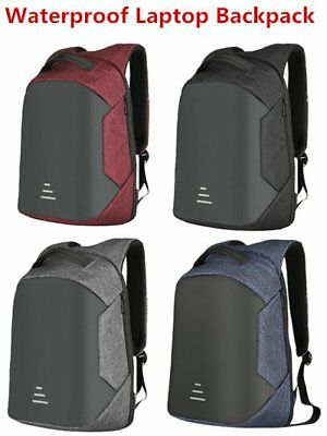 Multifunctional Anti Theft Backpack Unisex Waterproof Bags Laptop Rucksack  EO