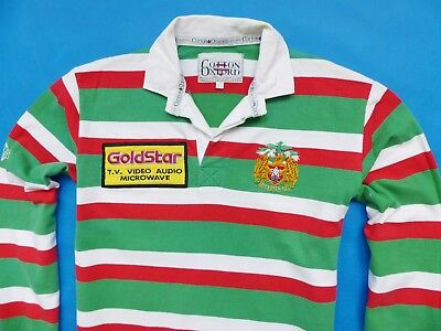 CLASSIC COMBED COTTON UNIVERSITY OF OXFORD STRIPED RUGBY SHIRT