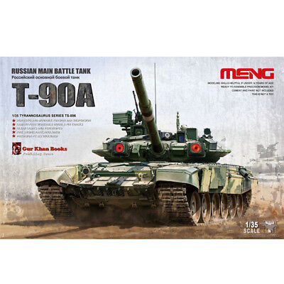 Meng Model TS-006 1/35 Russian Main Battle Tank T-90A Assembled Model *new*