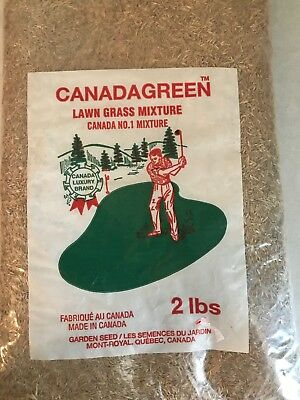 Canada Green Grass Seed - 2 Pounds