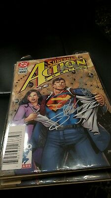 Action Comics #1000 Signed By Dan Jurgens And Remarked By Ken Haeser