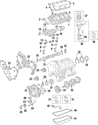 Hemi Engine Table