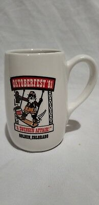 "Vintage Coors Oktoberfest 1981 ""A Swingin Affair"", Golden Colorado"
