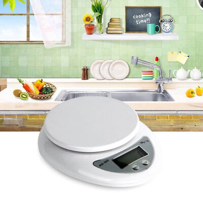 5000g/1g 5kg Digital Kitchen Food Diet Postal Scale Weight Balance Electronic SD
