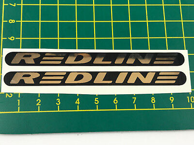 Redline Gen 2 bar and fork decal Old school bmx