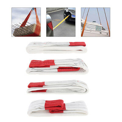 1-4M 3t Lifting Sling Car Emergency Tow Cable Heavy Duty Road Recovery Strap