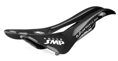 Selle SMP Full-Carbon Lite Sella Bicicletta Unisex Nero 273 x 135 Mm