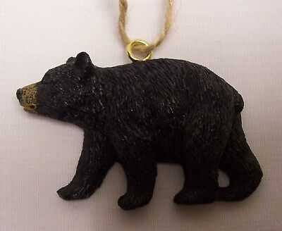 Black Bear Christmas Ornament Cabin Lodge Home Decor (C3)