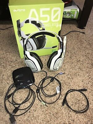 Astro A50 White Gaming Headsets for Xbox One
