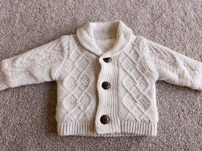 Good Condition Nutmeg 3-6 Months Hooded Winter Cardigan Clothing, Shoes & Accessories