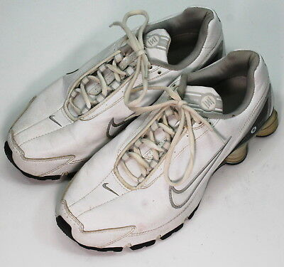 934f4237402bde Nike Shox Turbo IV SL Womens Running Shoes size 9.5 316926 white and silver