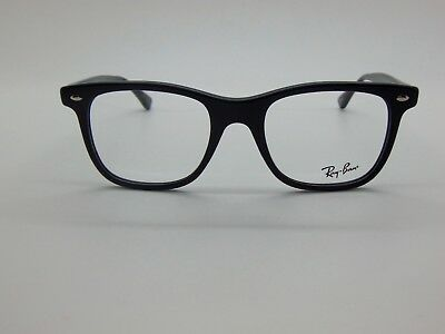 94f648911d NEW AUTHENTIC RAY Ban RB 5248 2000 Shiny Black 51mm RX Eyeglasses ...