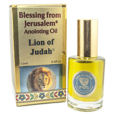 Anointing Oil Lion of Judah Blessing from Jerusalem Biblical Spice 12 ml