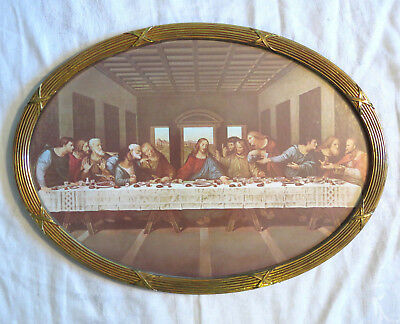 Vintage Home Interior Home Interiors Jesus And The Last Supper Oval