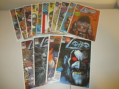 Lobo Mini-Series x 3 (Lot of 15)  Lobo #1-4 (1990), Lobo's Back, Infanticide ++