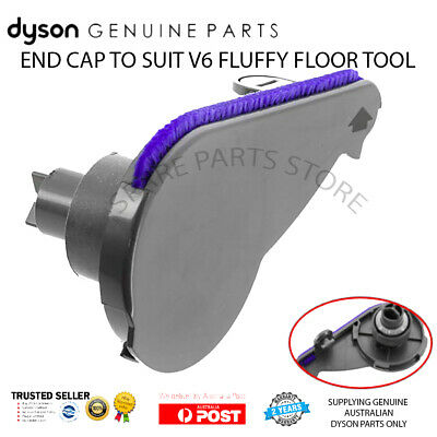 DYSON V6 END CAP for FLUFFY & ABSOLUTE SOFT CLEANER HEAD - GENUINE DYSON PART
