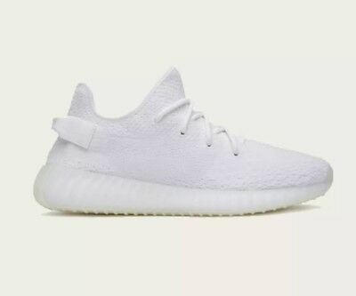 best service 4c842 89a69 ADIDAS YEEZY BOOST 350 V2 Triple White by Kayne West Size 10 US New  Production