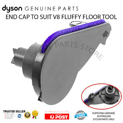 DYSON V8 END CAP for V8 FLUFFY & ABSOLUTE SOFT CLEANER HEAD - GENUINE DYSON PART