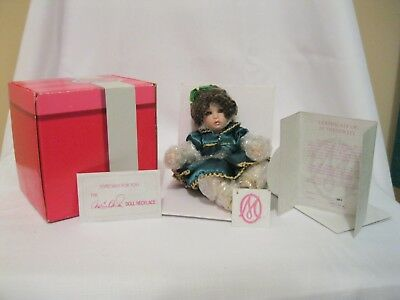 Tiny Tots   Amaya Holiday  Marie Osmond Porcelain doll used w/box