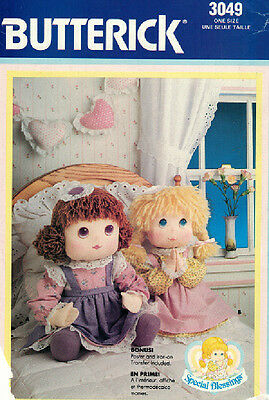 Crafts - Doll - Special Blessing - Butterick Pattern 3049