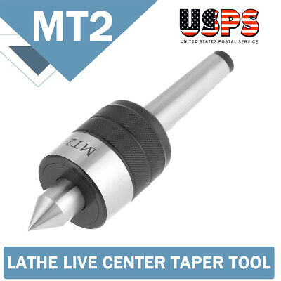 MT2 Precision Live Milling Centre Taper Bearing Design Lathe Turning Revolving S