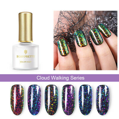 BORN PRETTY 6ml UV Gel Polish Chameleon Glitter Nail Art Soak Off Gel Varnish