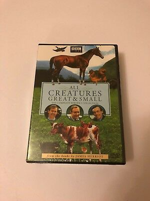 NEW SEALED All Creatures Great and Small - Series One Set