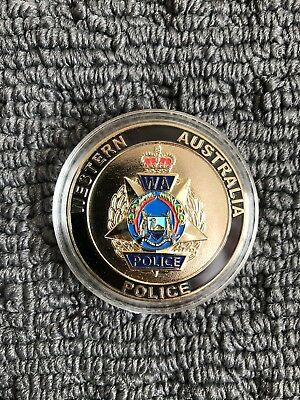 Social Western Australia Police Challenge coin WA Police Collectors Item