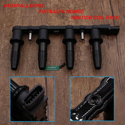 For Vauxhall Ignition Coil Pack Astra Corsa Vectra Insignia Meriva Rail 6 Pin
