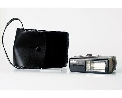 NIKON SS-15 Camera Flash with Original Case + Diffuser - TESTED FULLY WORKING