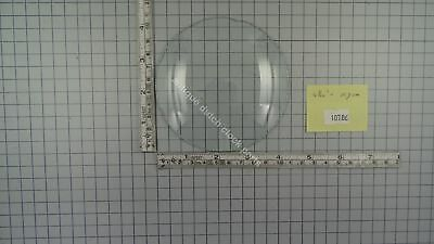 "CLOCK DOOR CONVEX GLASS 4 7/32"" or 10,7 cm across"