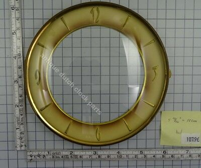 "CLOCK DOOR WITH CONVEX GLASS AND DIAL 5 29/32"" or 15 cm across"