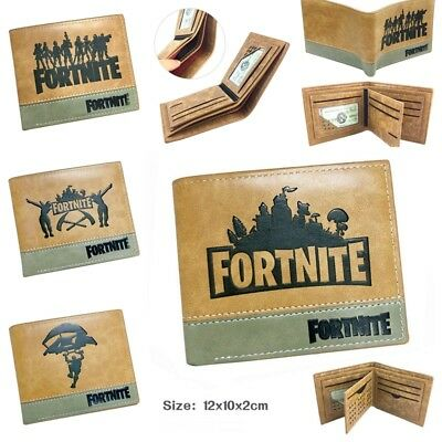 AU Fortnite Game Kids Boys Coins Money Wallet Mens Purse Bag Birthday Bday Gift