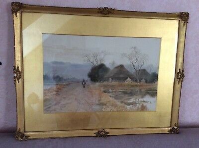 T Kobayashi Watercolour Painting Japanese