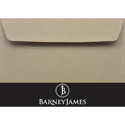 New C5 (162 x 229mm) Envelope Recycled Brown Kraft Lick & Stick (Pack 20)