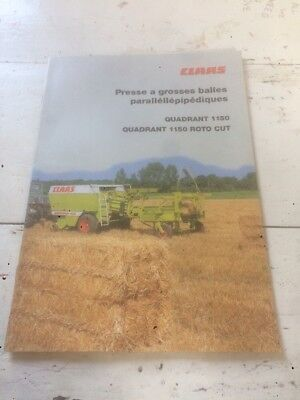 Prospectus Claas No Tracteur - Claas - Ih - Someca - Deutz
