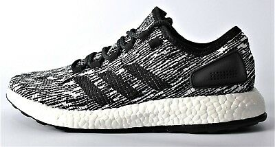 626d5b34b34df NEW ADIDAS PUREBOOST Oreo Black White Men s Boost Running Shoes Pure ...