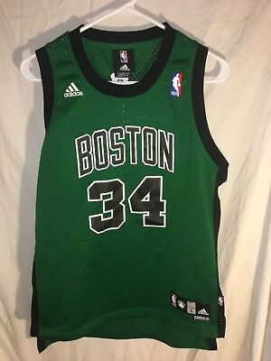 fa7d703934f ... coupon for paul pierce boston celtics adidas stitched on jersey youth  large 14 16 nba ee2ce