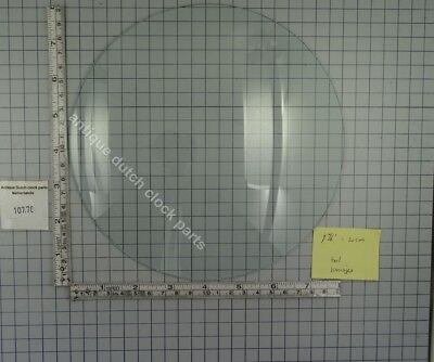 "CLOCK DOOR CONVEX GLASS 7 14/16"" or 20 cm across"