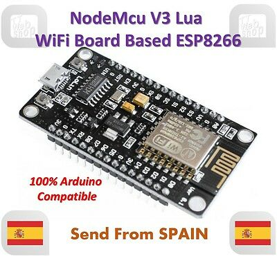 NodeMcu V3 Lua WeMos WiFi Wireless Module CH340 Development Board ESP8266 ESP12E
