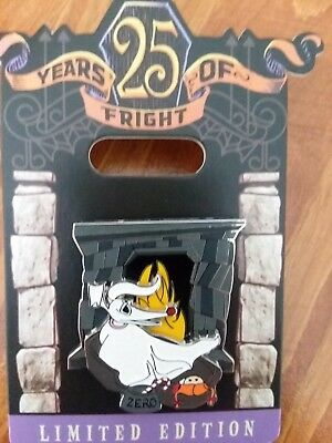 Disney Nightmare Before Christmas 25 Years Of Fright Zero Pin 2018