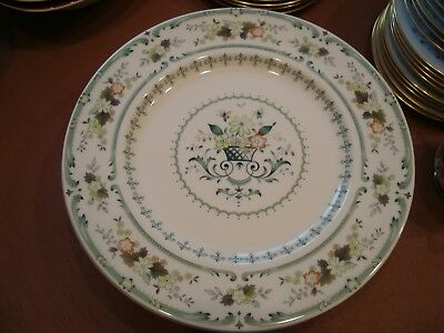 Royal Doulton Provencal, Dinner Plate, Qty Available, 1St Quality