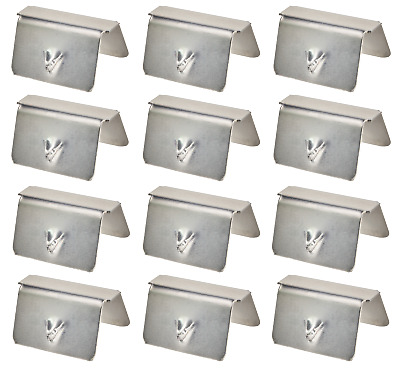 12x Wind Deflector CLIPS for HEKO, SNED, G3 Climair iSpeed Best fit Top Quality