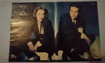 Poster bravo DIN A3 akte X scully mulder Worlds apart