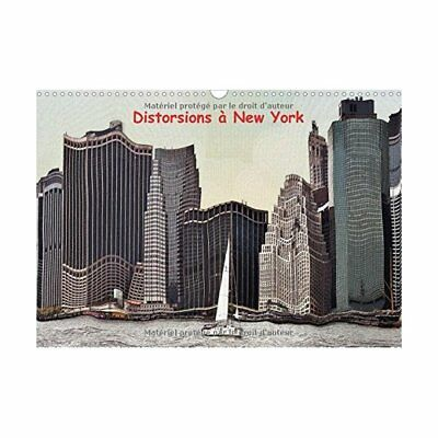 Livre Neuf - Distorsions à New York : Les gratte-ciels de New York vue en distor