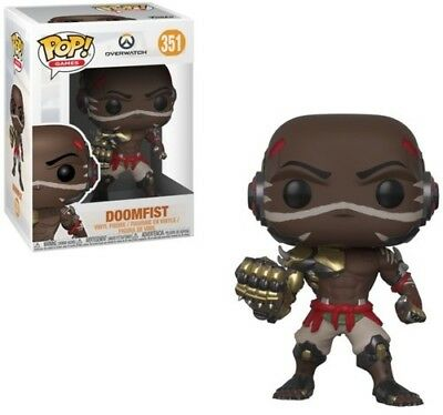 Overwatch - Doomfist - Funko Pop! Games (2018, Toy NUEVO)