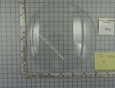 "CLOCK DOOR CONVEX GLASS 5 25/32"" or 14,7 cm across"