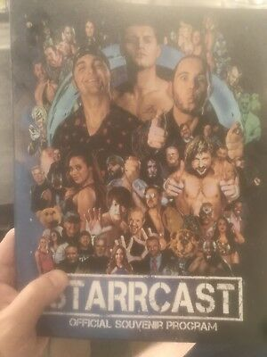 Starrcast Official Program ALL IN Cody Young Bucks Bullet Club
