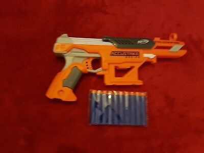 Nerf N-Strike Elite Accustrike Series Falconfire Blaster + 10x darts