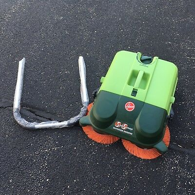 Hoover Outdoor Sweeper L1400 SpinSweep Pick A Parts Wheels Bin Brush Handle Read